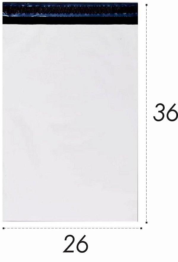 Envelope Plástico de Segurança Lacre 26x36cm