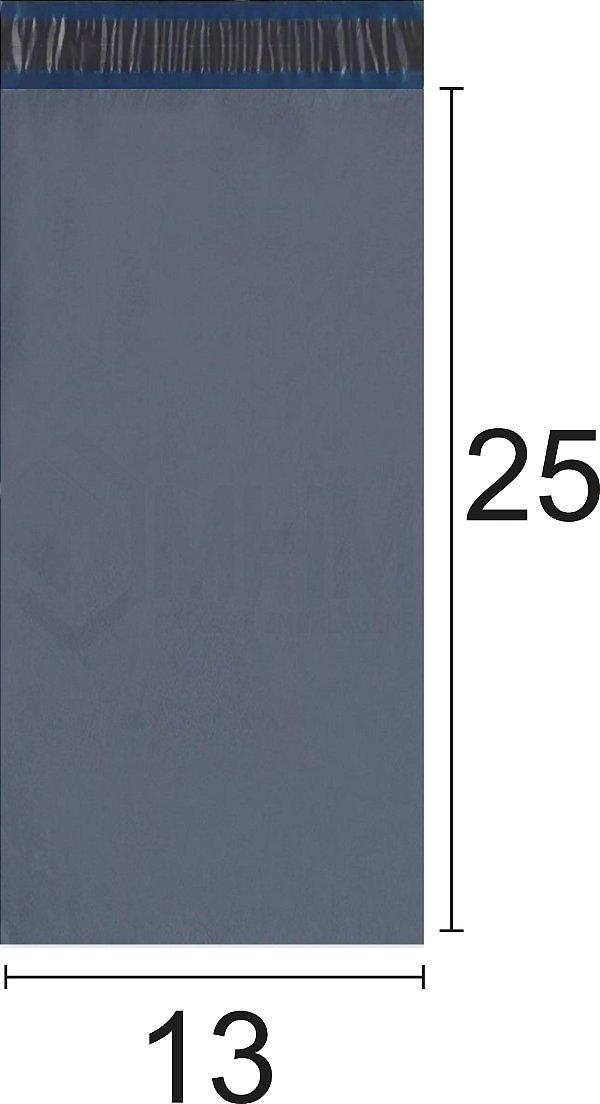 Envelope Plástico de Segurança com Lacre Economy 13x25 cm