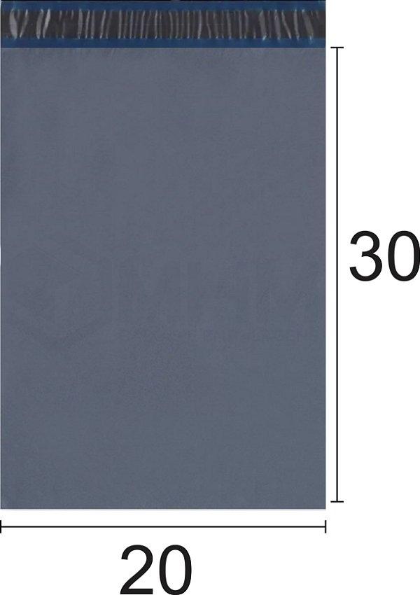 Envelope Plástico de Segurança com Lacre Economy 20x30 cm