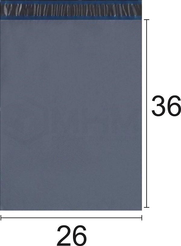Envelope Plástico de Segurança com Lacre Economy 26x36 cm