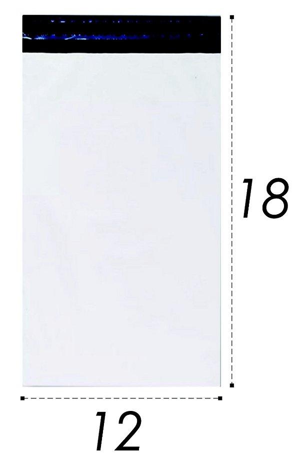 Envelope Plástico de Segurança Lacre 12x18cm