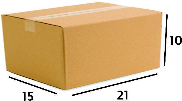 Caixa de Papelão Ecommerce Sedex Correios Nº07 21X15X10