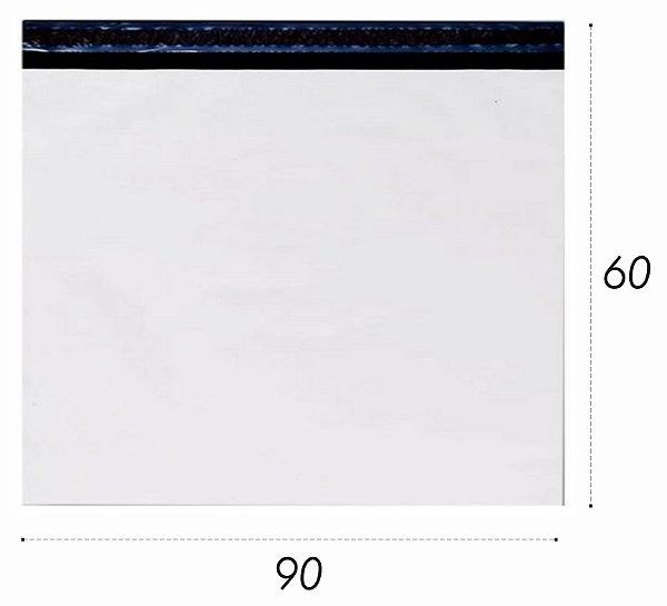 Envelope Plástico de Segurança com Lacre 90x60 cm