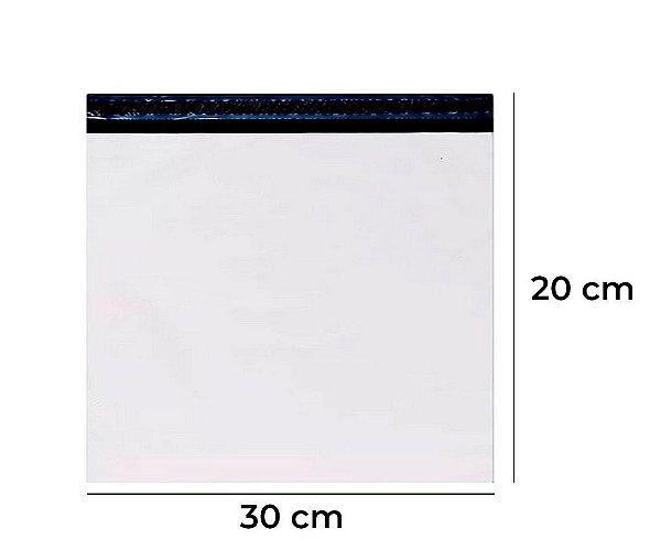 Envelope Plástico de segurança Lacre 30x20cm
