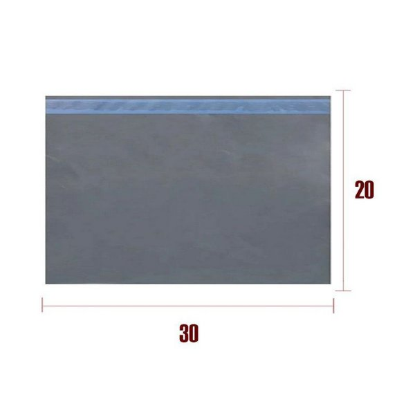 Envelope Plástico de segurança Lacre Economy 30x20cm -
