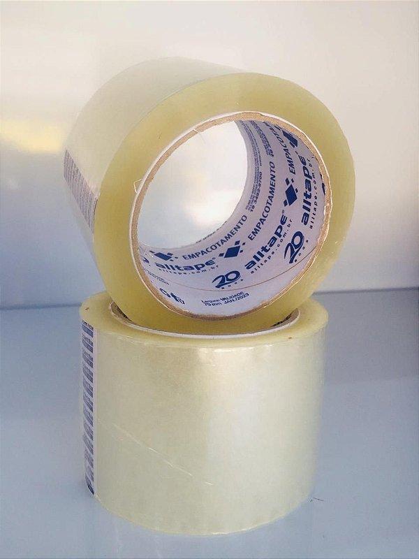 Fita adesiva de Transparente 70mm x 100 metros Alltape