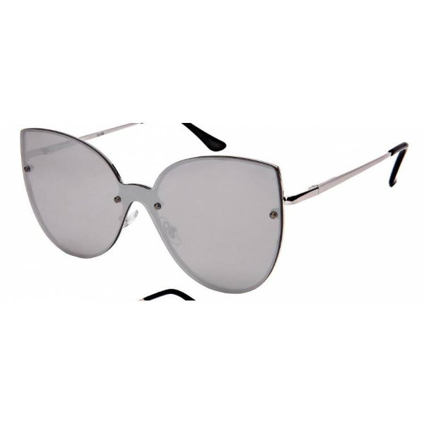 Óculos Metal Feminino Flat Lens