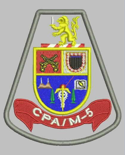 BRASÃO CPA/M-5 - Comando de Policiamento de Área Região Cinco - Zona Oeste