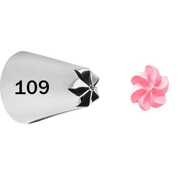 BICO 109 FLOR ESPECIALIDADES GRANDE SEM EMENDA WILTON