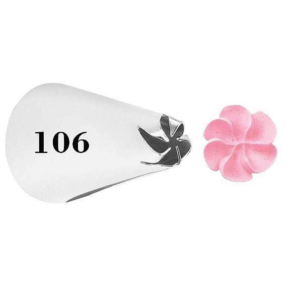 BICO 106 FLOR PITANGA SEM EMENDA WILTON