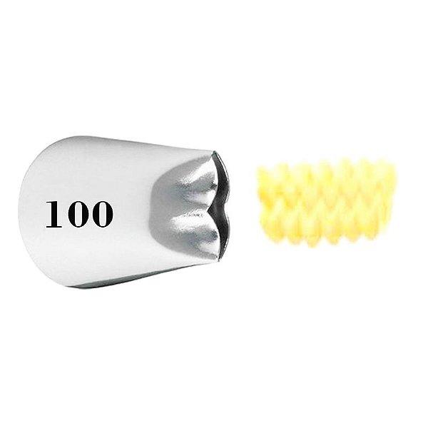 BICO 100 BABADOS PEQUENO SEM EMENDA WILTON