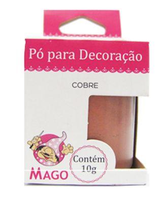 PÓ PARA DECORAÇÃO COBRE MAGO 10 GRAMAS
