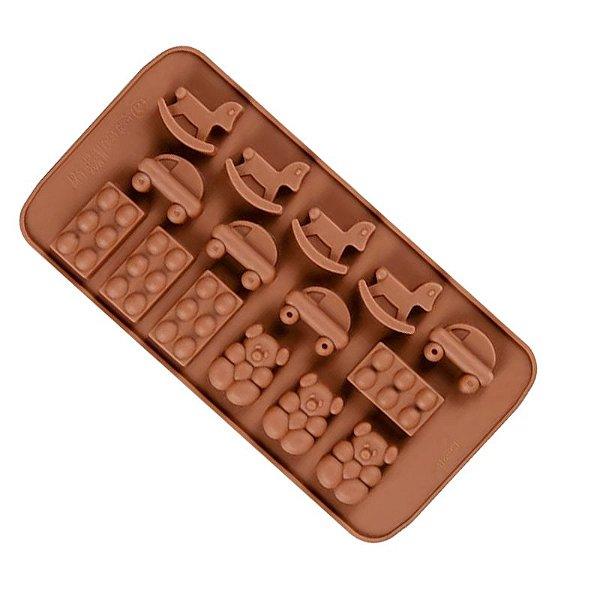 FORMINHA MINI MOLDE PARA CHOCOLATE BRINQUEDOS