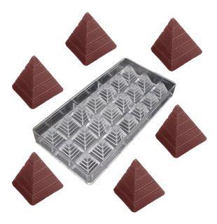 Forma Molde Pirâmide Para Bombons Chocolate