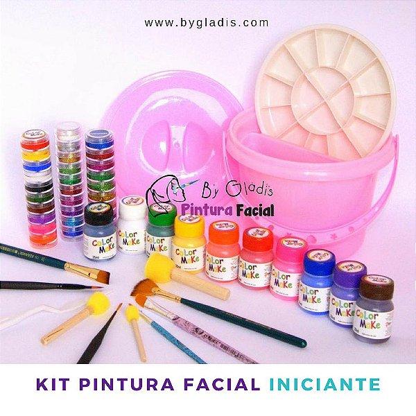 Kit de Pintura Facial Artística Iniciante