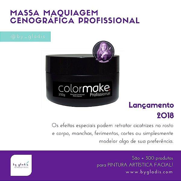 Massa Maquiagem de Caracterização Efeitos Especiais Color Make | 250 gr