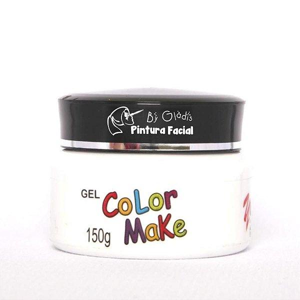 Gel Fluorescente para Cabelo Color Make 150 gr | Branca - Branco Neon