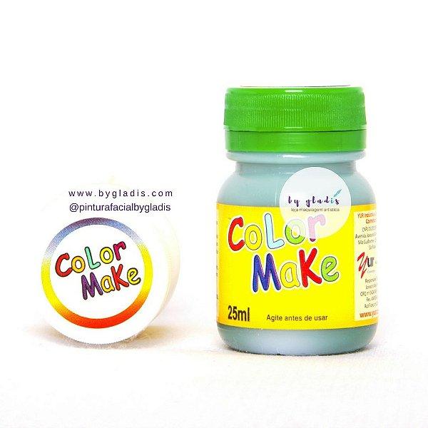 Tinta Líquida Pintura Facial e Corporal Color Make 25 ML |Verde