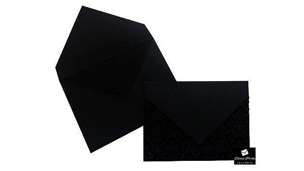 Envelope Arabesco Aba Bico - 22,5x16,5cm - 100 unidades *Item a produzir sob encomenda.