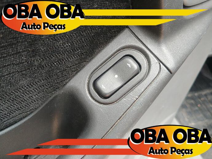 Botão De Vidro Traseira Esquerda Chevrolet Meriva 1.8 Gasolina 2002/2003