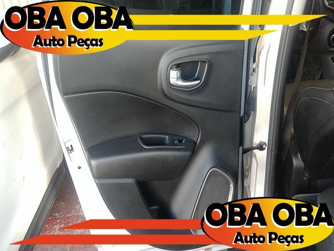 Forro De Porta Traseira Esquerda Fiat Toro Volcano Tração 4x4 Diesel 2.0 2016/2017