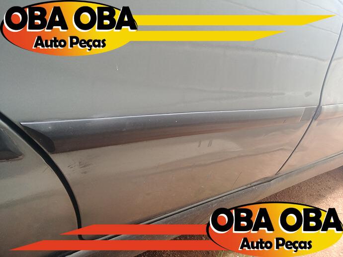 Borrachão Da Porta Traseira Direita Fiat Palio 1.5 Weekend MPI Gasolina 1997/1998
