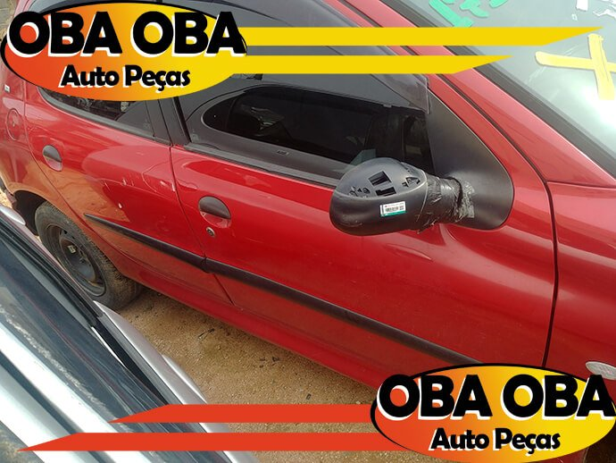 Porta Dianteira Direita Peugeot 206 1.0 16v Gasolina 2003/2003