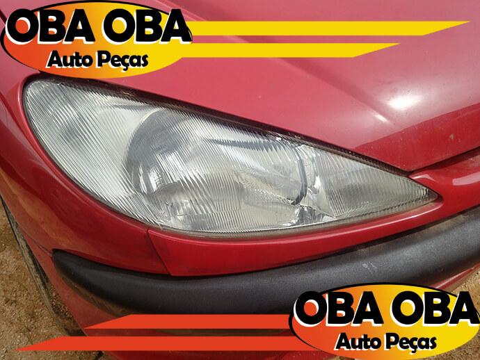 Farol Direito Peugeot 206 1.0 16v Gasolina 2003/2003