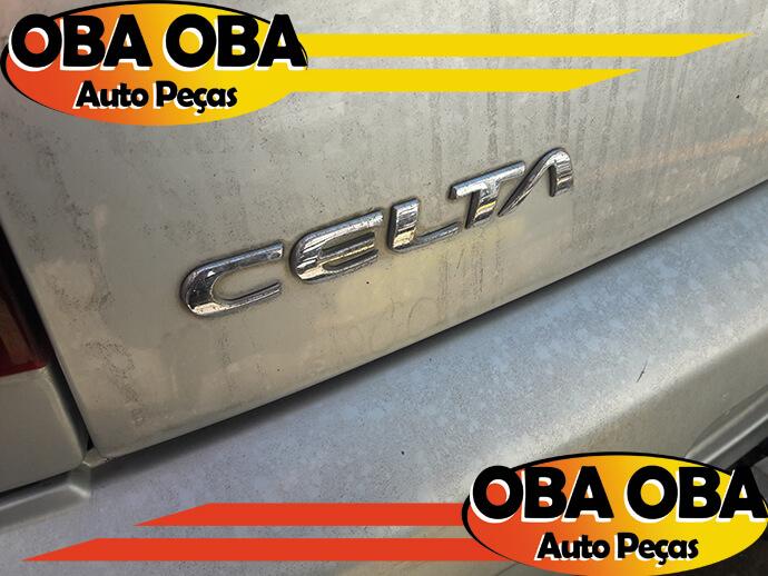 Emblema da Tampa Celta Chevrolet Celta 1.0 Gasolina 2004/2005