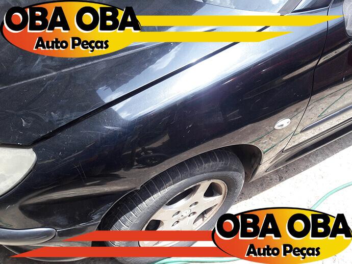 Para-Lama Esquerdo Peugeot 206 1.4 Flex 2008/2008