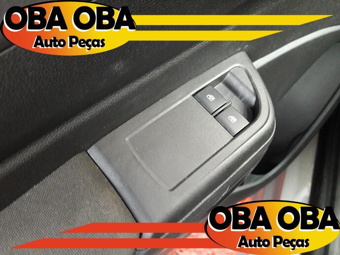 Botão de Vidro Dianteiro Esquerdo Chevrolet Onix Lt 1.4 Aut Flex 2016/2016