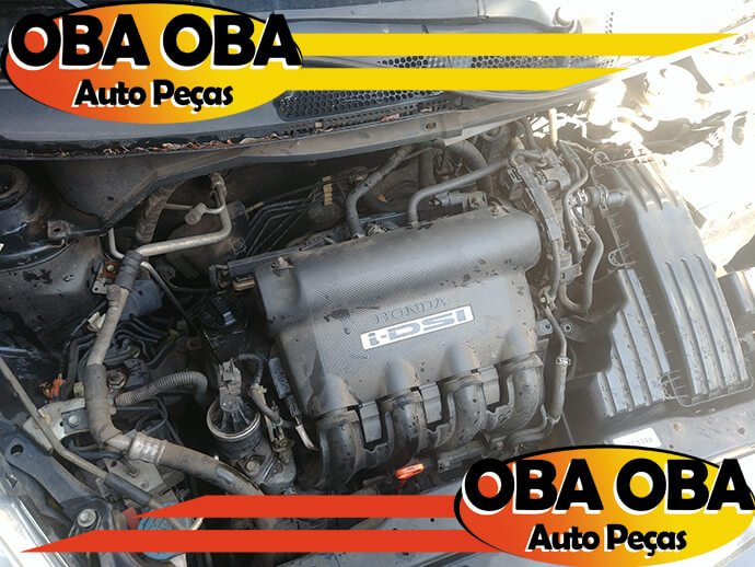Motor Parcial Honda Fit LXL 1.4 8v 2004/2004