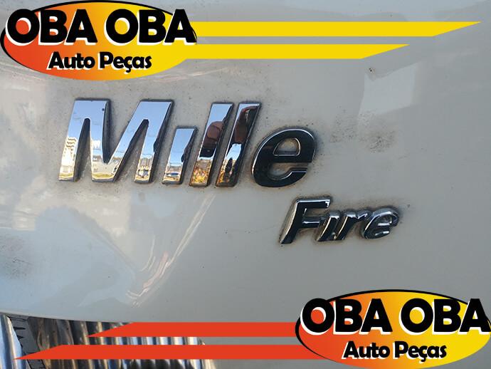 Emblema Da Tampa Traseira (Mille)  UNO Mille Econ 1.0 Flex 2012/2013