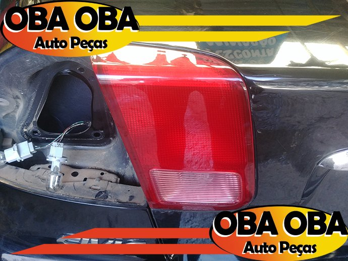 Lanterna da Tampa Esquerda Honda Civic Lx 1.7 Aut 2001/2002