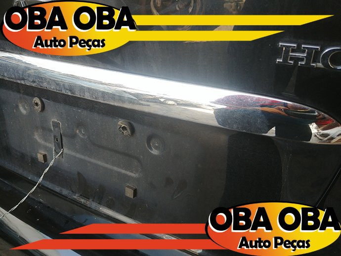 Friso Cromado da Tampa Honda Civic Lx 1.7 Aut 2001/2002