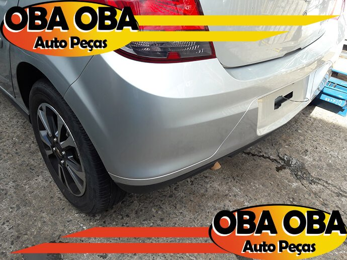 Parachoque Traseiro Onix Chevrolet Onix 1.4 Aut Ctz 2016/2016