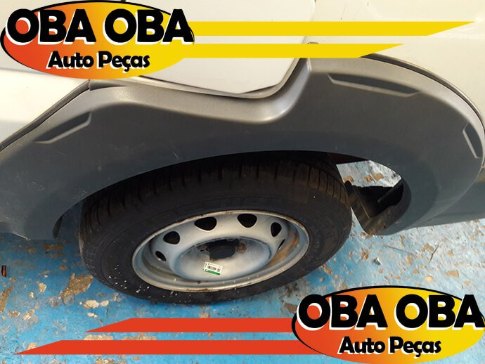 Aplique da Lateral Traseira Esquerda Fiat Strada Working 1.4 flex 2015/2015