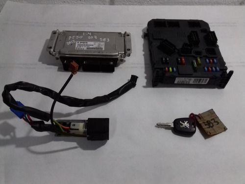 Kit Code Peugeot 207 1.4 Flex 2012 0261s05881
