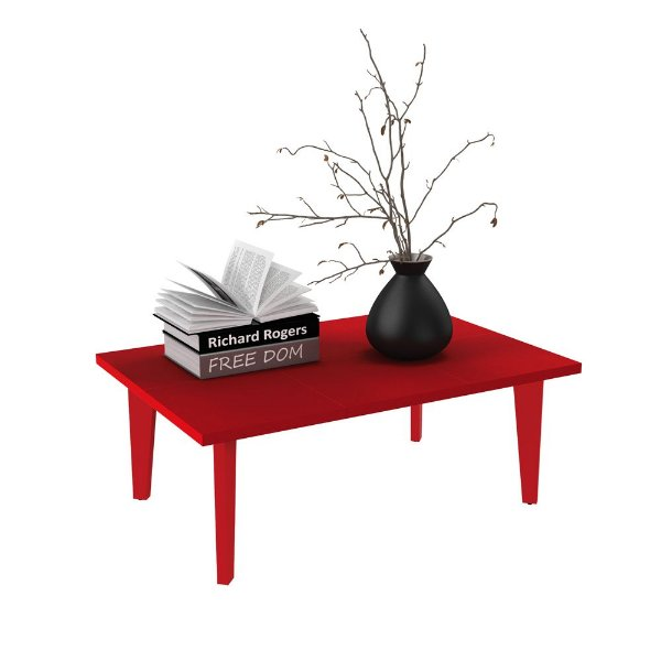 Mesa de centro de madeira para sala de estar