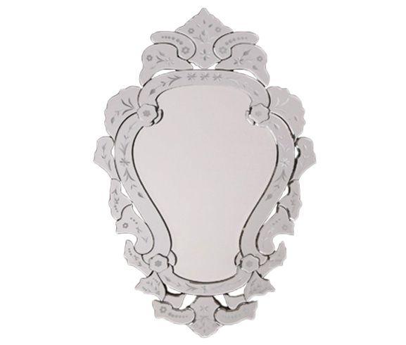 Espelho Provençal Veneza M com 87 x 54 cm