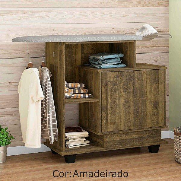 Tábua de passar moderna com armário de madeira embutido - HAVAI