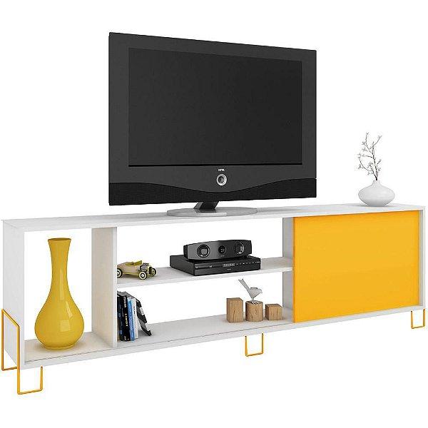 Rack Decorativo para Sala de Estar e TV