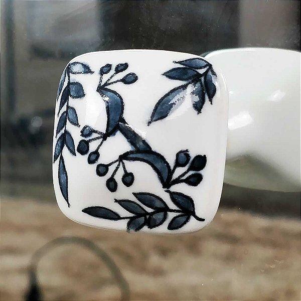 Puxador de Cerâmica Decorativo para Gavetas 214141