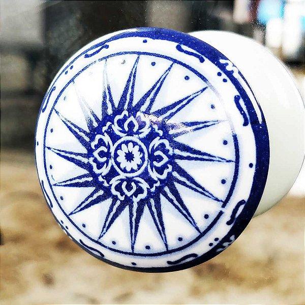 Puxador de Cerâmica para cômoda e Quarto decorativo 214324