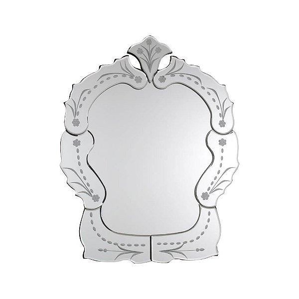 Espelho Veneziano 50 x 40 cm Pequeno Provençal