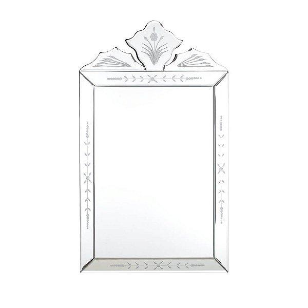Espelho Veneziano Retangular Vertical 50 x 30 cm