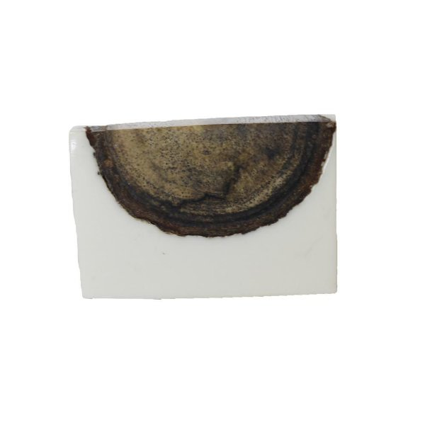 Puxador Decorativo Madeira e Acrílico - 40 x 30 mm - 045677