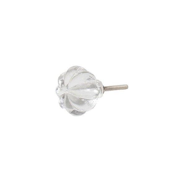 Puxador De Gaveta Decorativo Redondo Comprimento 4 cm Diâmetro 4 cm - 003110