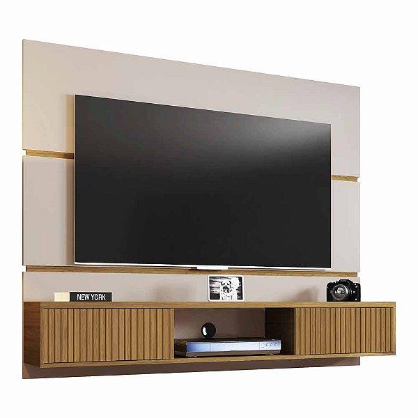 Painel para TV até 65 Polegadas Suspenso de Parede Largura 160 cm