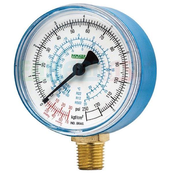 Manômetro Refrigeração FABSR - Famabras